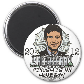 Piyush is My Homeboy 2012 Gear 6 Cm Round Magnet