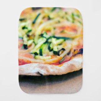 Pizza-12 Burp Cloth