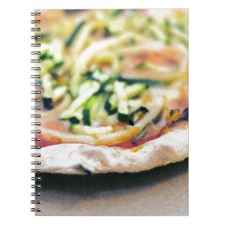 Pizza-12 Spiral Notebook