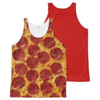 PIZZA All-Over PRINT SINGLET