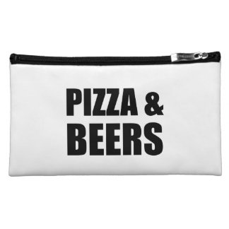 Pizza And Beers Cosmetic Bag