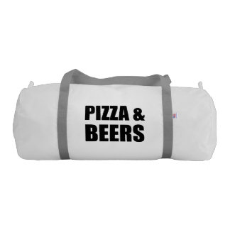 Pizza And Beers Gym Duffel Bag