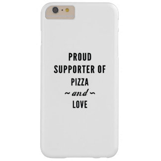Pizza And Love Barely There iPhone 6 Plus Case