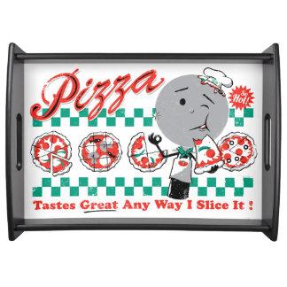 Pizza Any Way I Slice It Reto Serving Tray