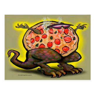 Pizza Beast Postcard