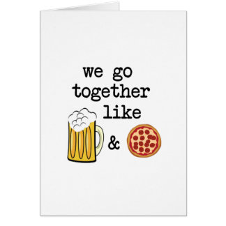 Pizza & Beer Card
