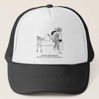 Pizza Cartoon 6991 Trucker Hat