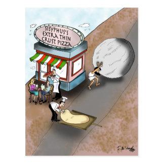 Pizza Cartoon 9366 Postcard