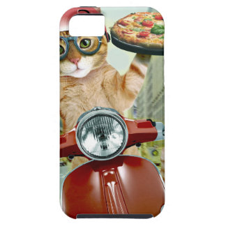 pizza cat - cat - pizza delivery case for the iPhone 5