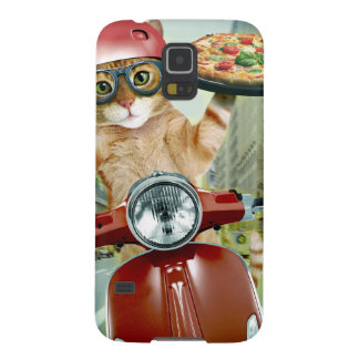 pizza cat - cat - pizza delivery cases for galaxy s5
