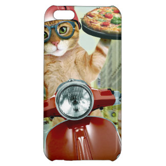 pizza cat - cat - pizza delivery cover for iPhone 5C
