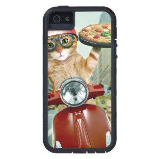 pizza cat - cat - pizza delivery iPhone 5 cases