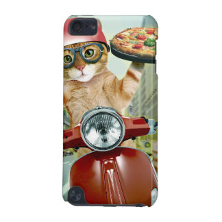 pizza cat - cat - pizza delivery iPod touch (5th generation) cover