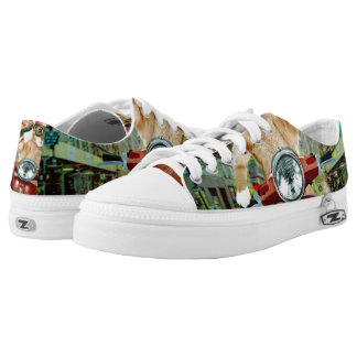 pizza cat - cat - pizza delivery low tops