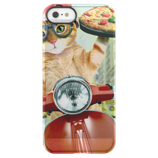 pizza cat - cat - pizza delivery permafrost® iPhone SE/5/5s case