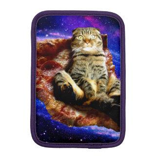 pizza cat - crazy cat - cats in space iPad mini sleeve