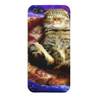 pizza cat - crazy cat - cats in space iPhone 5/5S case