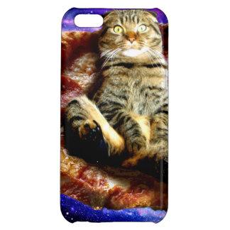 pizza cat - crazy cat - cats in space iPhone 5C case