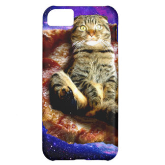 pizza cat - crazy cat - cats in space iPhone 5C case