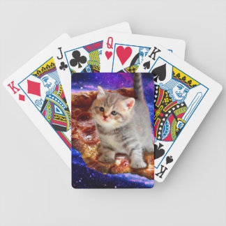 pizza cat - cute cats - kitty - kittens bicycle playing cards
