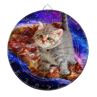 pizza cat - cute cats - kitty - kittens dartboard