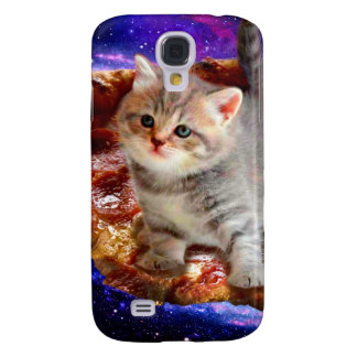 pizza cat - cute cats - kitty - kittens galaxy s4 case