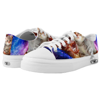 pizza cat - cute cats - kitty - kittens low tops