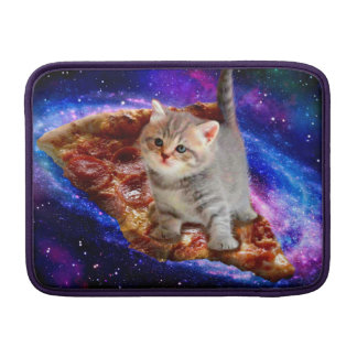pizza cat - cute cats - kitty - kittens sleeve for MacBook air