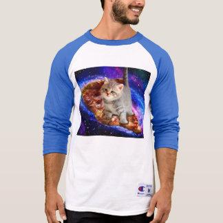 pizza cat - cute cats - kitty - kittens T-Shirt