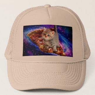 pizza cat - cute cats - kitty - kittens trucker hat