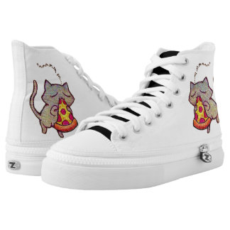 Pizza Cat! High Tops