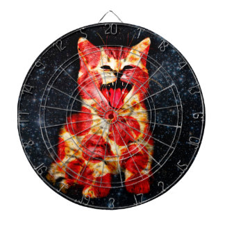 pizza cat - kitty - pussycat dartboard