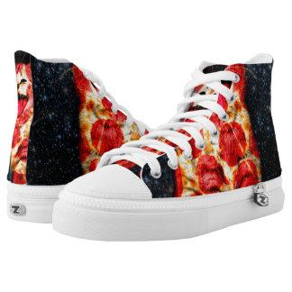 pizza cat - kitty - pussycat high tops