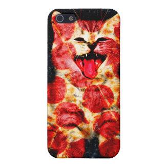 pizza cat - kitty - pussycat iPhone 5/5S covers