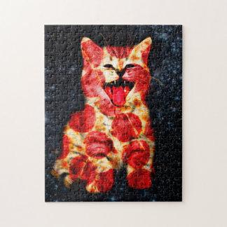 pizza cat - kitty - pussycat jigsaw puzzle