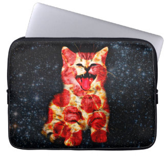 pizza cat - kitty - pussycat laptop sleeve