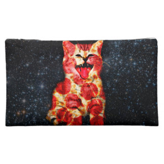 pizza cat - kitty - pussycat makeup bag