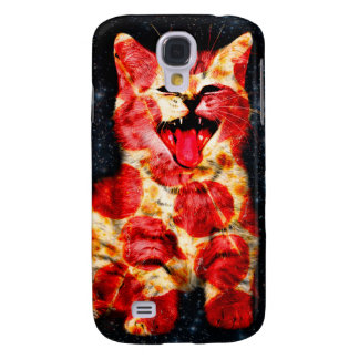 pizza cat - kitty - pussycat samsung galaxy s4 cover
