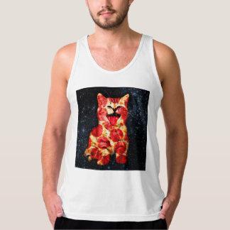 pizza cat - kitty - pussycat singlet