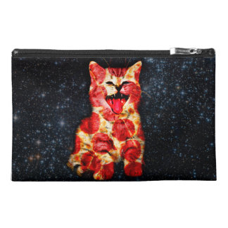 pizza cat - kitty - pussycat travel accessory bag