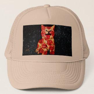 pizza cat - kitty - pussycat trucker hat