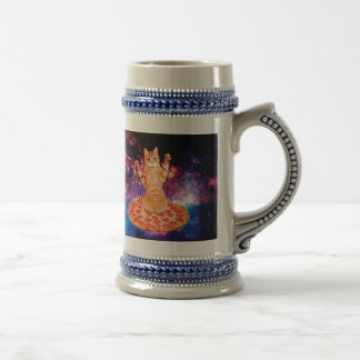 pizza cat - orange cat - space cat beer stein