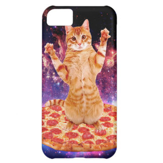 pizza cat - orange cat - space cat iPhone 5C case