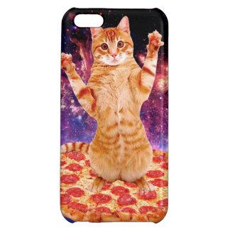 pizza cat - orange cat - space cat iPhone 5C cases