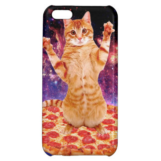 pizza cat - orange cat - space cat iPhone 5C cover
