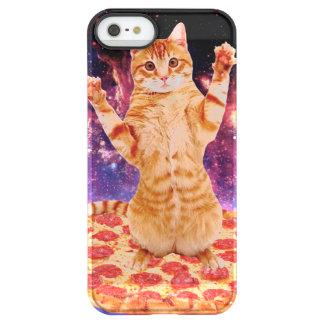 pizza cat - orange cat - space cat permafrost® iPhone SE/5/5s case