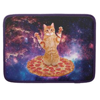 pizza cat - orange cat - space cat sleeve for MacBooks