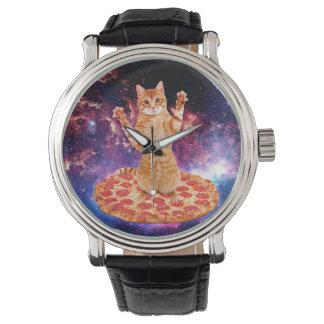 pizza cat - orange cat - space cat watch