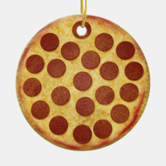 Pizza Christmas Tree Ornament