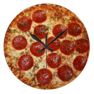 Pizza clock
